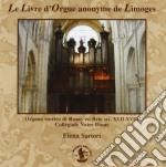 LE LIVRE D'ORGUE ANONYME DE LIMOGES cd musicale