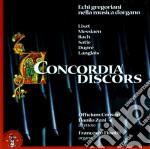 CONCORDIA DISCORS (ECHI GREGORIANI NELLA cd musicale