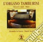 L'ORGANO TAMBURINI cd musicale