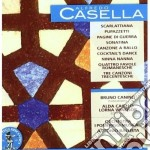 Casella Alfredo - Scarlattiana, Pupazzetti, 4 Favole Romanesche, 3 Canzoni Trecentesche cd musicale di Alfredo Casella
