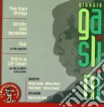 Giorgio Gaslini - Decollage, Ritual, Piano Improvvisation, Peintres Au Cafe'-Sonnant cd musicale di Giorgio Gaslini