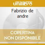 Fabrizio de andre cd musicale di Tribute