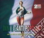 Inni e canti popolari (2cd) cd musicale di ARTISTI VARI