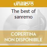 The best of sanremo cd musicale di Artisti Vari