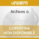 Archives o cd musicale