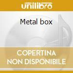 Metal box cd musicale