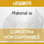 Material w cd musicale