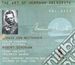 Abendroth Hermann Vol.17  - Oistrakh David & Igor  Vl/friedrich Wuhrer Pf, Berlin Radio Simphony Orchestra cd musicale
