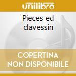 Pieces ed clavessin cd musicale di Le roux gaspard