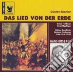Mahler, Gustav. Rosbaud, Hans. - Das Lied Von Der Erde. Cd. cd musicale di Gustav Mahler