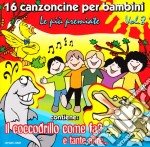 16 Canzoncine Per Bambini #08 cd musicale di Artisti Vari