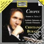 Chopin Fryderyk - Sonata Per Pianoforte N.2 Op.35, N.3 Op.58 cd musicale di Fryderyk Chopin