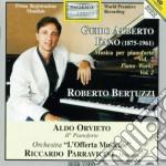 ANDANTE E ALLEGRO CON FUOCO (X 2 PF E X cd musicale di FANO