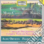 Martucci Giuseppe - Opere Per Due Pianoforti: Fantasia Op.32, Variazioni, Op.58 cd musicale di Giuseppe Martucci