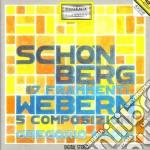 Schoenberg Arnold - Frammenti Per Pianoforte, 3 Klavierstucke cd musicale di Arnold Schoenberg