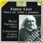 Liszt Franz - Opere Per Violino E Pianoforte: Gran Duo Concertante, Epitalamo, La Notte cd musicale di Franz Liszt