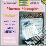 Mastropirro Vincenzo - Versinmusica -