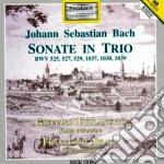 Bach J.S. - Sonate Bwv 525, 527, 529, 1037, 1038, 1039 cd musicale di Johann Sebastian Bach