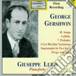 MUSICA X PF: 18 SONGS (ARRANGIATI DALL'A cd musicale di George Gershwin