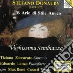 Donaudy Stefano - 36 Arie Di Stile Antico -