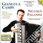 Paganini Niccolo' - Trascrizioni Per Fisarmonica cd musicale di Niccolo' Paganini