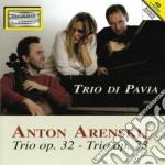 Arensky Anton Stepanovich - Trio Per Pianoforte E Archi Op.32, Op.73 cd musicale di ARENSKY ANTON STEPAN