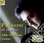 24 CAPRICCI (OP.1-2-3)                    cd musicale di Niccolo' Paganini