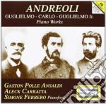 Andreoli - Piano Works cd musicale di Carlo Andreoli