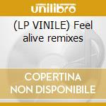 (LP VINILE) Feel alive remixes lp vinile di Pure orange feat.sha