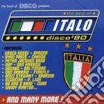 Artisti Vari - The Best Of Italo Disco 80 V.1 cd musicale di Artisti Vari