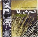 TARANTA PARTY(MY NAME IS MADONNA) cd musicale di VOX POPULI