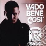 Patto Mc - Vado Bene Cosi' cd musicale di Mc Patto