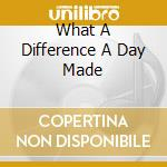 WHAT A DIFFERENCE A DAY MADE cd musicale di VAUGHAN SARAH