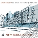 Javier Girotto - New York Sessions cd musicale di JAVIER GIROTTO