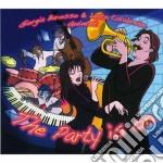 Giorgia Barosso & Luca Calabrese 5t - The Party Is On cd musicale di Giorgia barosso & lu