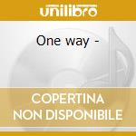 One way - cd musicale