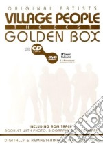 GOLDEN BOX + DVD cd musicale di VILLAGE PEOPLE