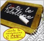 CANTA LE TABELLINE cd musicale di AA.VV.