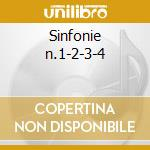 Sinfonie n.1-2-3-4 cd musicale di Johannes Brahms