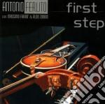Antonio Ferlito - First Step cd musicale di FERLITO/FARAO'/ZUNINO