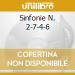 SINFONIE N. 2-7-4-6 cd musicale di BEETHOVEN L.V.