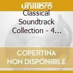 CLASSICAL SOUNDTRACK COLLECTION - 4 CD BOX cd musicale di ARTISTI VARI