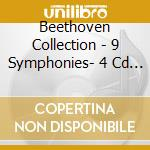 BEETHOVEN COLLECTION - 9 SYMPHONIES- 4 CD BOX cd musicale di BEETHOVEN