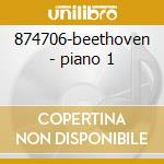 874706-beethoven - piano 1 cd musicale di Collection Gold