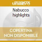 Nabucco highlights cd musicale di Verdi