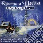 Ritorno A Baita Il Natale Degli Alpini cd musicale di Ska J