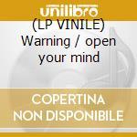 (LP VINILE) Warning / open your mind lp vinile di Electron storm vs dj