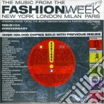 MUSIC FROM FASHION WEEK cd musicale di Music from fashion w