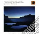 Federico Casagrande - Spirit Of The Mountains cd musicale di CASAGRANDE FEDERICO