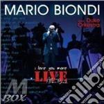 Live. I love you more cd musicale di Mario Biondi